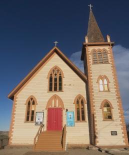 St Paul's Episcopal Church, Virginia City, NV 1876